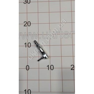Коннектор, DIN-адаптер угловой DIN/ниппель ,арт. 27009