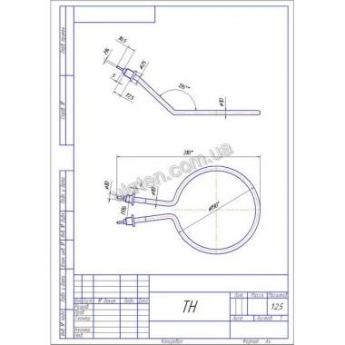 ТЭН арт. 18016 - 3,5кВт