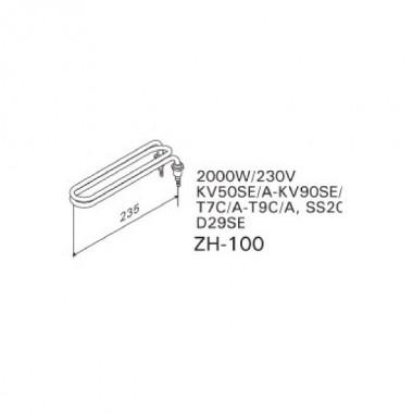 ТЭН арт.12036 аналог Harvia ZH-100
